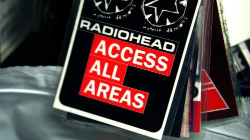 Access All Areas pass RadioHead