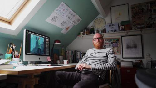 Illustrator Mark Frudd