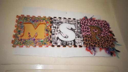 Manic Street Preachers banner by Emily Hyatt